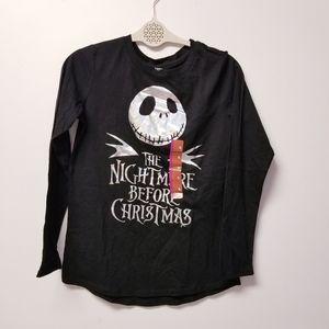 Nightmare before christmas long sleeve XL …
